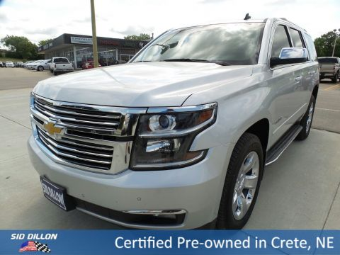 Certified Pre-Owned 2015 Chevrolet Tahoe LTZ 4WD