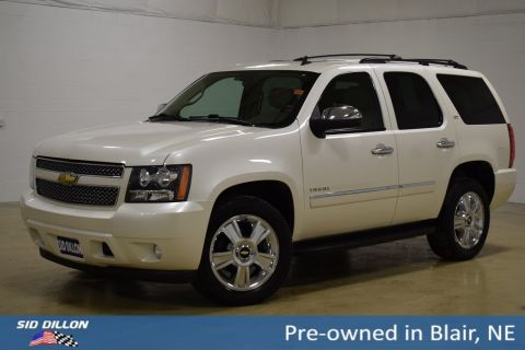 Pre-Owned 2010 Chevrolet Tahoe LTZ With Navigation & 4WD