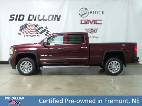 Certified Pre-Owned 2016 GMC Sierra 2500HD Denali 4WD