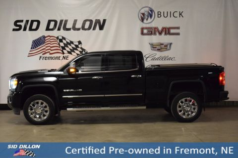 Certified Pre-Owned 2017 GMC Sierra 2500HD Denali