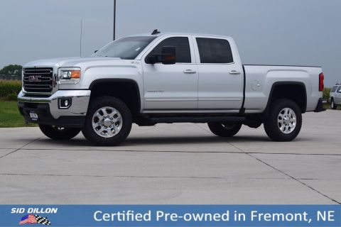 Certified Pre-Owned 2015 GMC Sierra 2500HD SLE