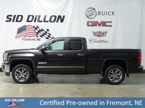 Certified Pre-Owned 2014 GMC Sierra 1500 SLT 4WD