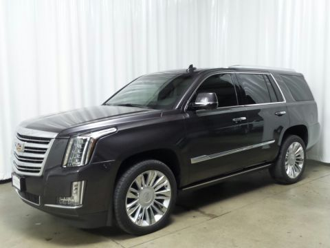 Certified Pre-Owned 2015 Cadillac Escalade Platinum With Navigation & 4WD