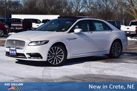 New 2018 Lincoln Continental Select FWD 4 Door Sedan
