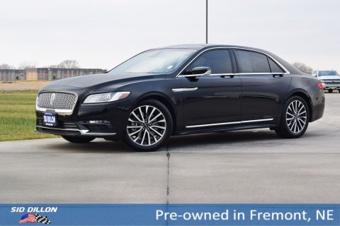 Pre-Owned 2017 Lincoln Continental Select FWD 4 Door Sedan
