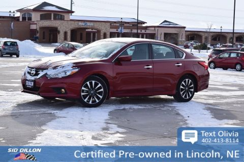 Certified Pre-Owned 2016 Nissan Altima 2.5 SV FWD 4 Door Sedan