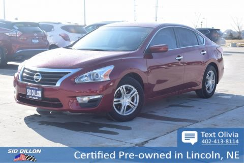 Certified Pre-Owned 2015 Nissan Altima 2.5 S FWD 4 Door Sedan