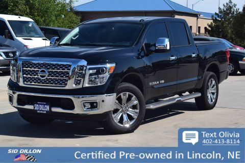 Certified Pre-Owned 2018 Nissan Titan SL