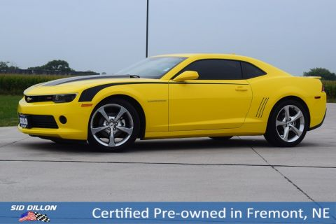 Certified Pre-Owned 2014 Chevrolet Camaro LT