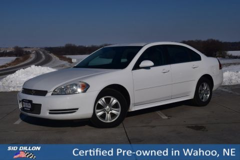 Certified Pre-Owned 2016 Chevrolet Impala LS