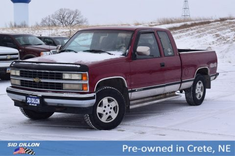 Pre-Owned 1992 Chevrolet C/K 1500 EXT CAB 4WD 143.5