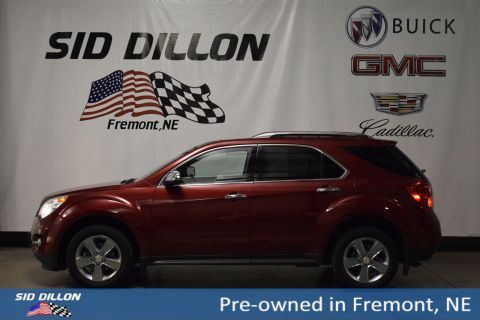 Pre-Owned 2012 Chevrolet Equinox LTZ With Navigation & AWD