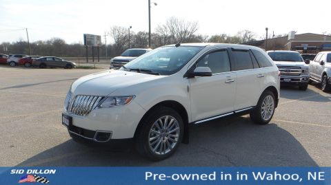 Pre-Owned 2012 Lincoln MKX FWD 4DR SUV