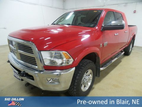 Pre-Owned 2012 Ram 2500 Laramie With Navigation & 4WD