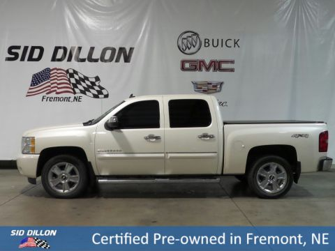Certified Pre-Owned 2013 Chevrolet Silverado 1500 LTZ 4WD