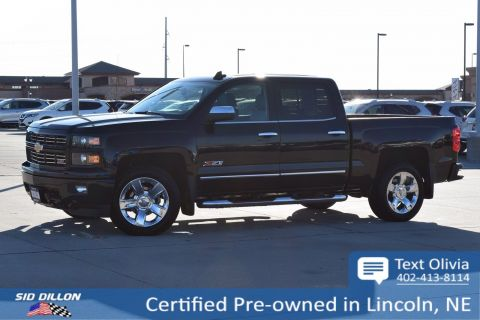 Certified Pre-Owned 2015 Chevrolet Silverado 1500 LTZ 4WD