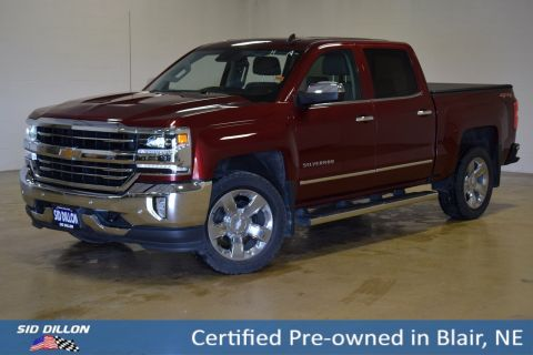 Certified Pre-Owned 2017 Chevrolet Silverado 1500 LTZ