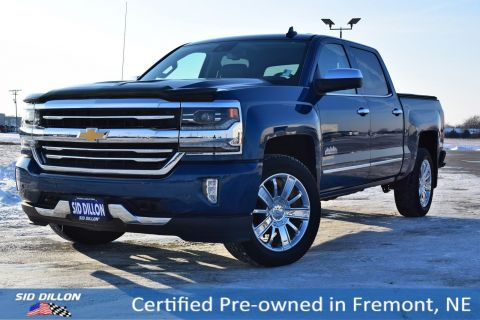 Certified Pre-Owned 2017 Chevrolet Silverado 1500 High Country 4WD