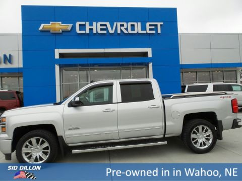 Pre-Owned 2014 Chevrolet Silverado 1500 High Country 4WD