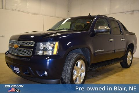 Pre-Owned 2012 Chevrolet Avalanche LS With Navigation & 4WD
