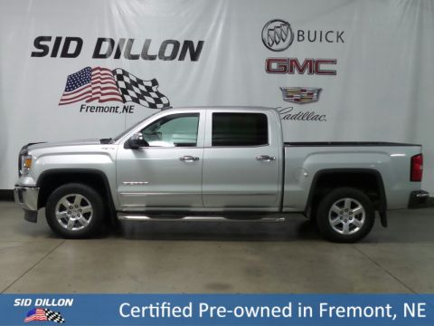 Certified Pre-Owned 2015 GMC Sierra 1500 SLT