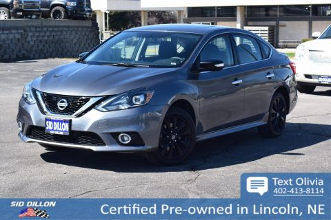 Certified Pre-Owned 2017 Nissan Sentra SR Turbo