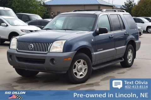 Pre-Owned 2002 Mercury Mountaineer 4DR WGN AWD