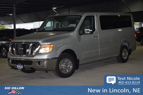 New 2018 Nissan NV Passenger NV3500 HD SL
