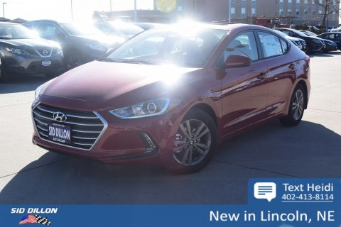 New 2018 Hyundai Elantra Value Edition FWD 4 Door Sedan