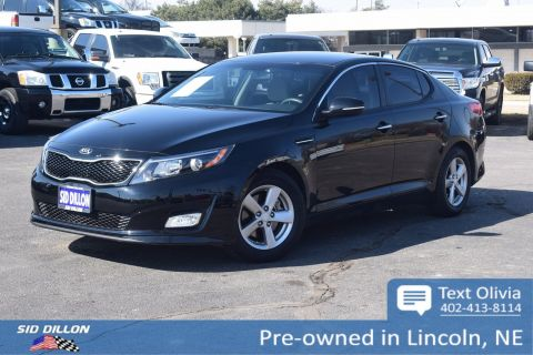 Pre-Owned 2015 Kia Optima LX FWD 4 Door Sedan