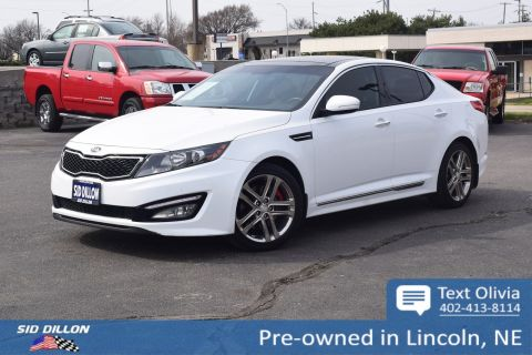 Pre-Owned 2013 Kia Optima SX w/Limited Pkg With Navigation
