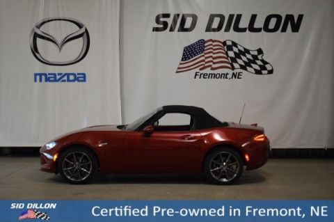 Certified Pre-Owned 2017 Mazda MX-5 Miata Grand Touring