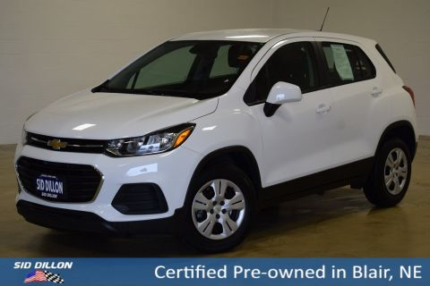 Certified Pre-Owned 2017 Chevrolet Trax LS FWD SUV