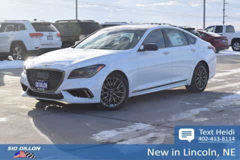 New 2018 Genesis G80 3.3T Sport With Navigation & AWD