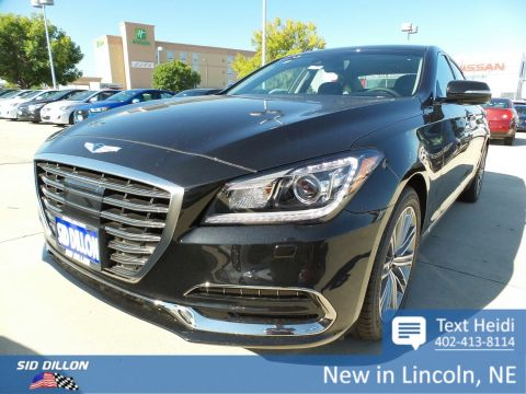 New 2018 Genesis G80 3.8L With Navigation & AWD
