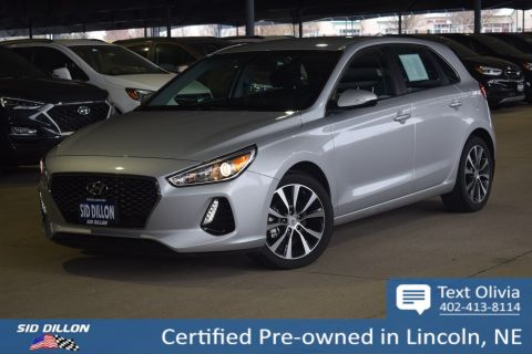 Certified Pre-Owned 2018 Hyundai Elantra 5DR HB AUTO