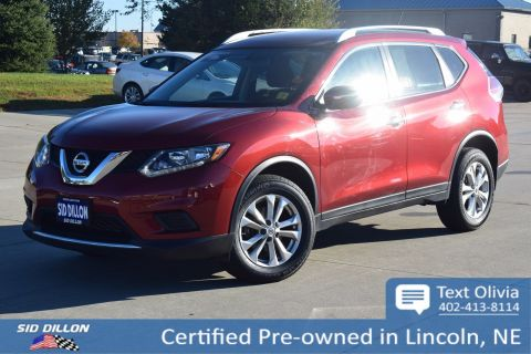 Certified Pre-Owned 2015 Nissan Rogue SV