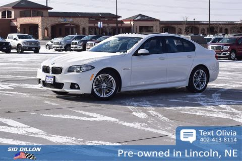 Pre-Owned 2016 BMW 5 Series 528i xDrive With Navigation & AWD